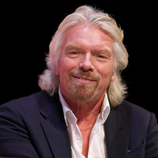 Richard Branson - Founder, Virgin Group & UN Oceans Advocate | WeRiseUP